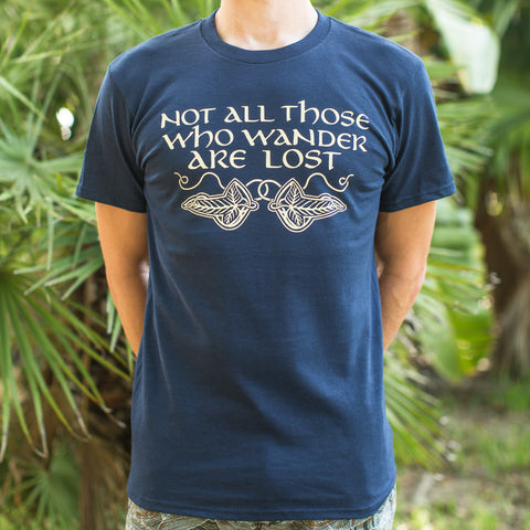 Not All Those Who Wander Are Lost T-Shirt (Mens) - Products To Build a Better Brain