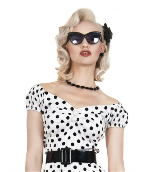 Collectif Judy Classic 50s Sunglasses