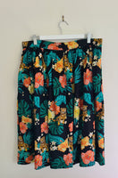 Pre-loved Hell Bunny Bali Skirt XL
