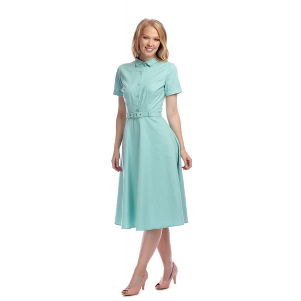 Collectif Keira Plain Swing Dress