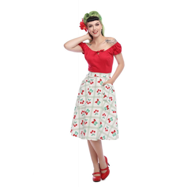 Collectif Veronica Picnic Swing Skirt