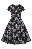 Hell Bunny Lily Rose 50's Dress