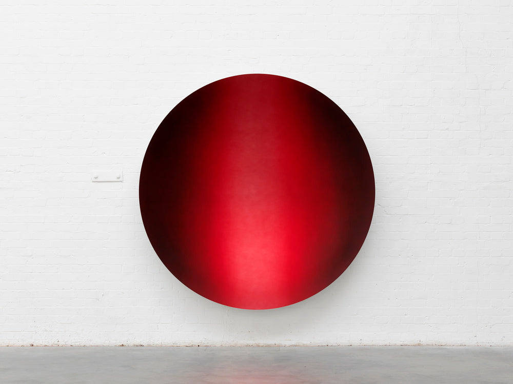 Anish Kapoor, Mirror (Garnet to Magenta Apple mix 2), 2018. Tamahra Prowse inspiration.