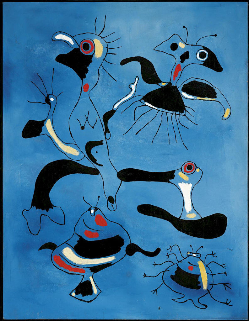 Joan Miro, Painting (Birds and Insects) 1938. Tamahra Prowse inspiration.