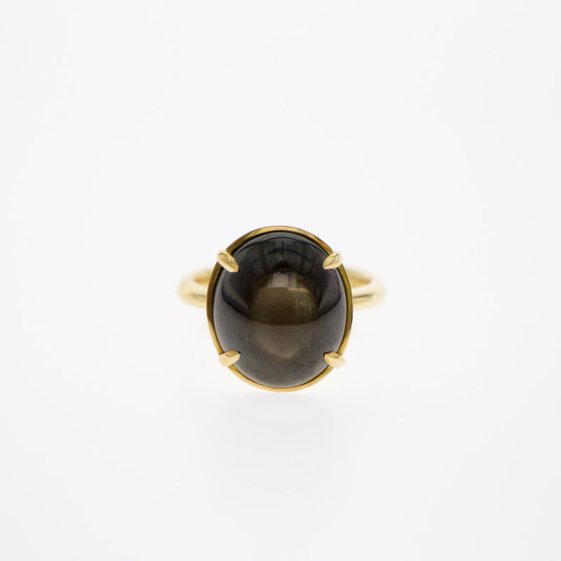Tamahra Prowse star sapphire gold ring custom design jewellery