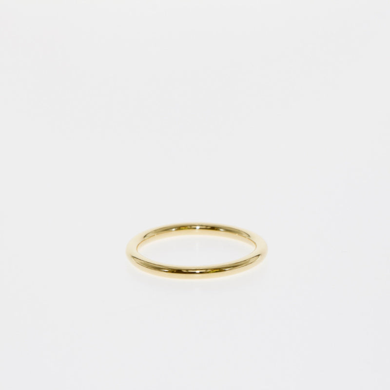 Tamahra Prowse jewellery design. 18 carat gold stacking ring.