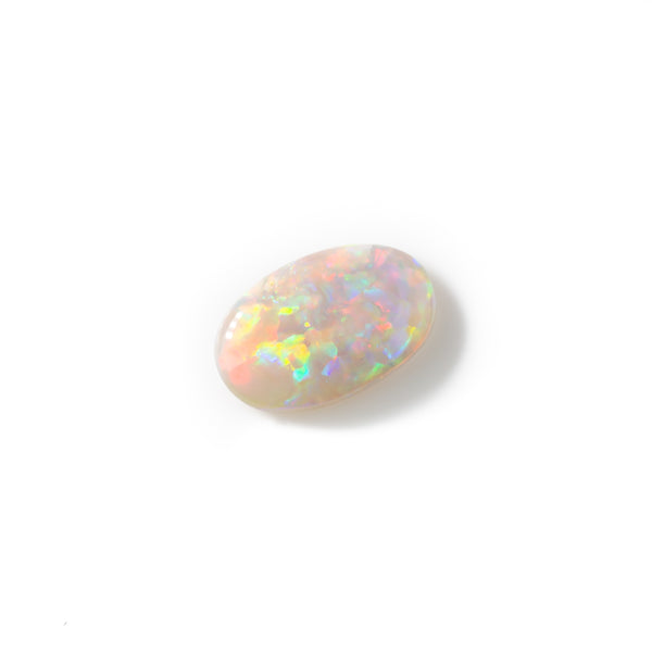 0.80ct Black opal loose stone from Lightning Ridge Australia. Opals by Tamahra Prowse