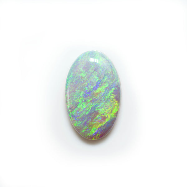 Crystal opal loose stone from Lightning Ridge Australia. Opals by Tamahra Prowse