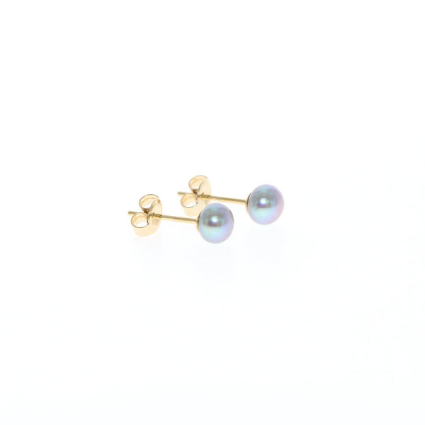 Tiny pearl earrings by Tamahra Prowse Jewellery Design