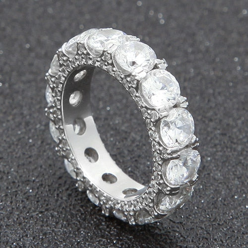 1 Row CZ Ring
