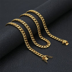 Miami Cuban Curb Link Necklace