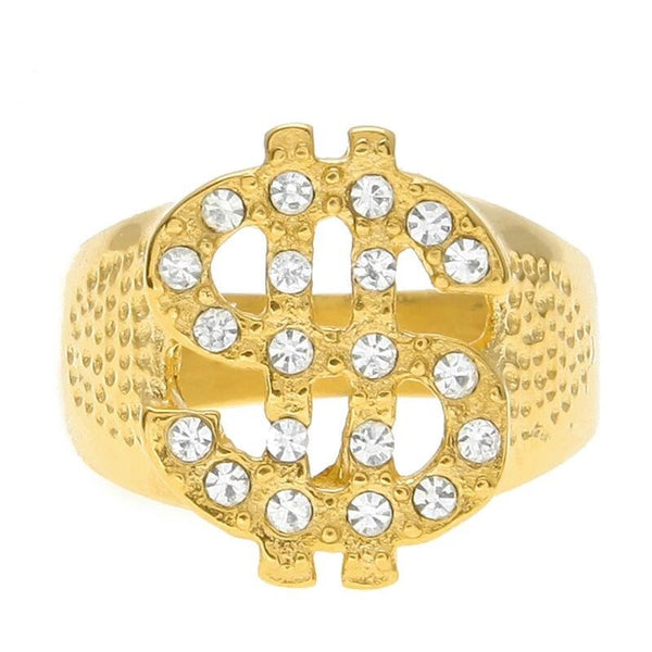 Dollar Sign Ring