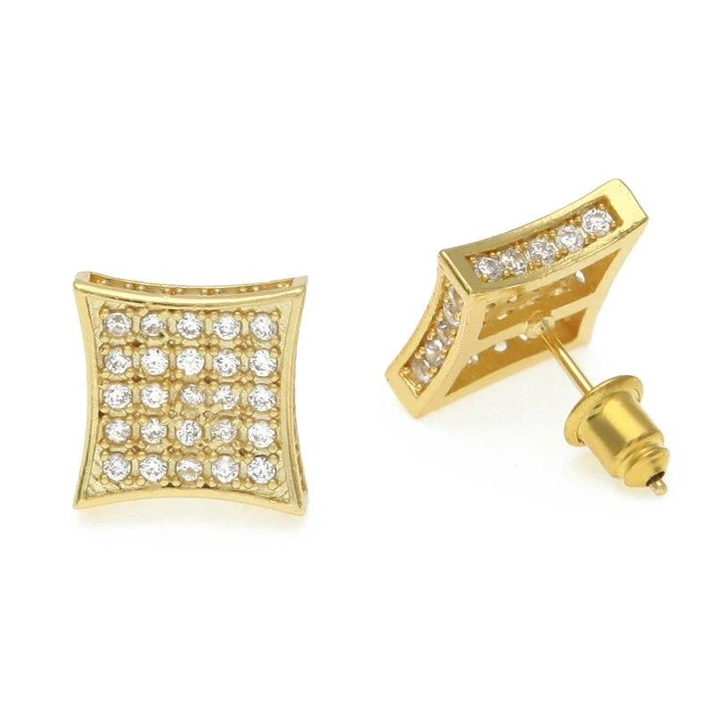 AAA Zircon Stud Earrings