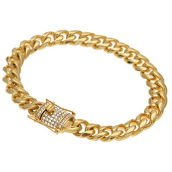 10mm Cuban Miami Link Bracelet