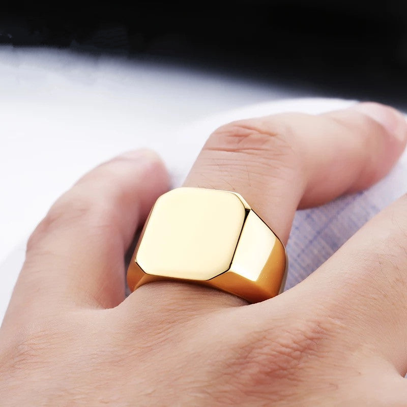 Polished Square Ring