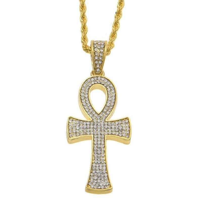 Egyptian Ankh Key Cross Pendant