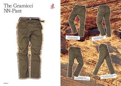 Gramicci NN-Pants: Born From A Rich History of Outdoors and Style