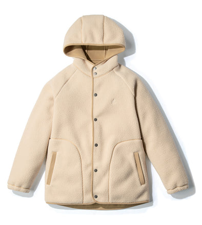Boa Fleece Hooded Coaches Jacket