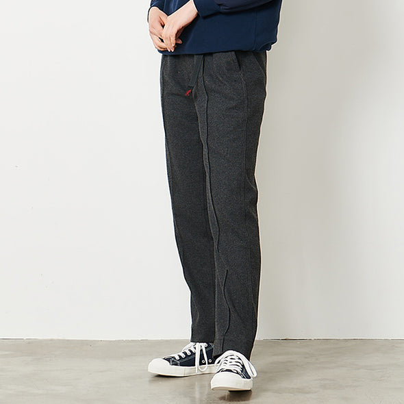 Wool Blend Pintuck Pants