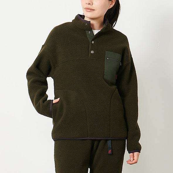 Boa Fleece Pullover Shirts