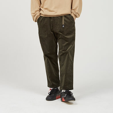 Corduroy Loose Tapered Pants