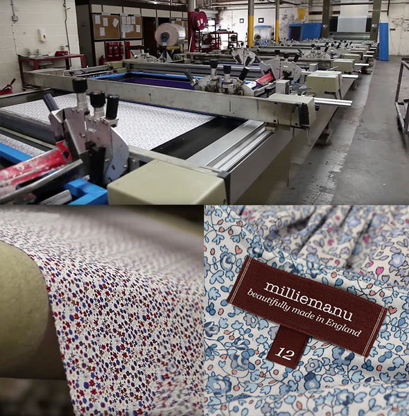 Liberty Tana lawn cotton production