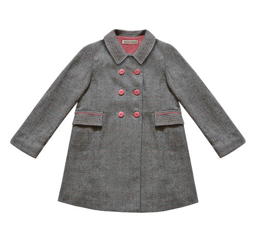 lucy coat - silver