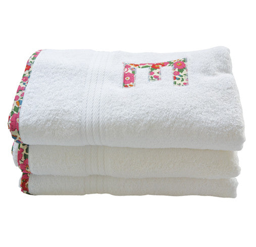 bath towel - red betsy