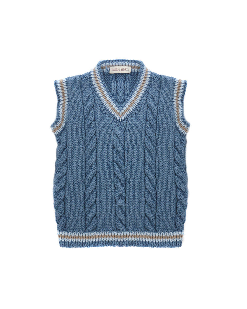 harry knitted tank