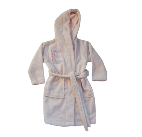 bath robe - pink fairford