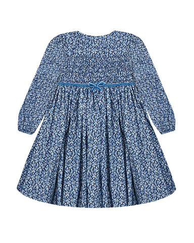 alicia dress - blue pepper