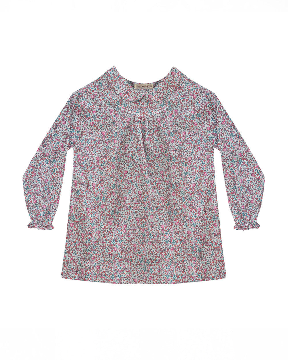 lucia blouse - pink eloise