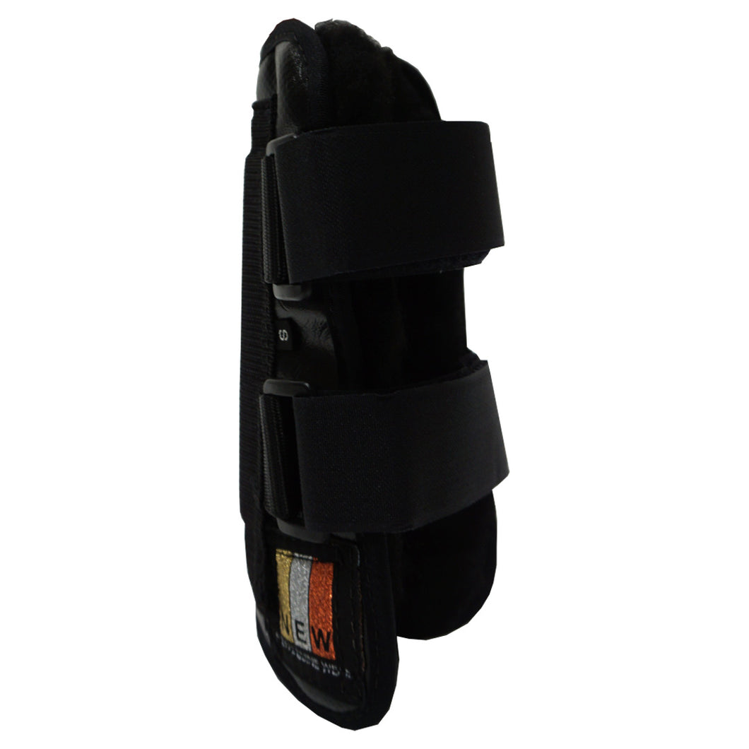 Open Front Fleece Tendon Boots