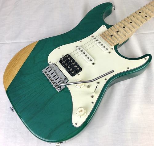 [Used] Suhr Pro series S2 Ash Trans Teal