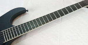 [USED] Skervesen Raptor 6 stain Black w/ SeymourDuncan BlackOuts