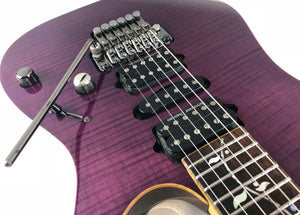 [Used] Ibanez j.custom RG8570Z Purple / PLEKED
