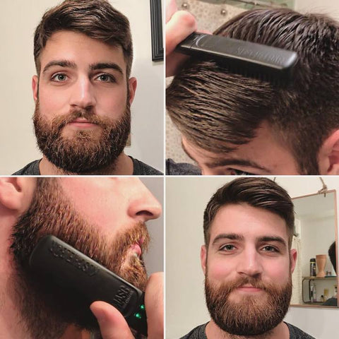 Beard and hair Straightener Comb