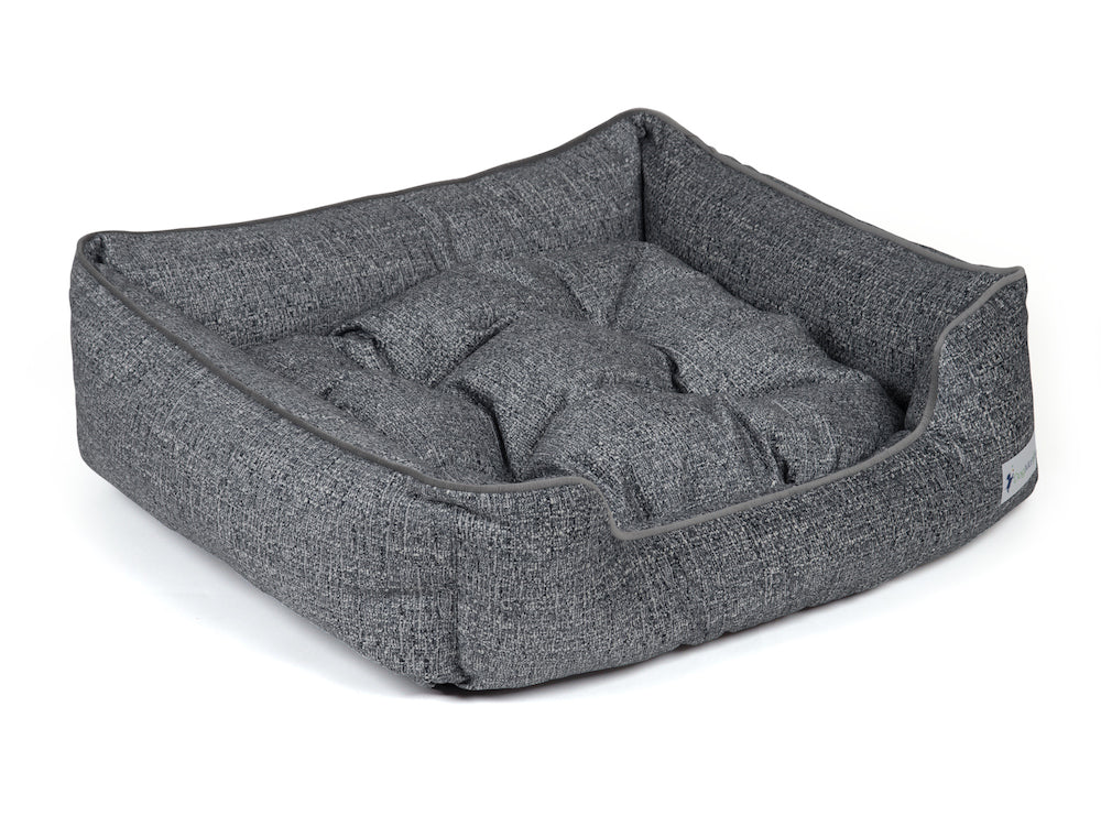 pet sleeper bed charcoal