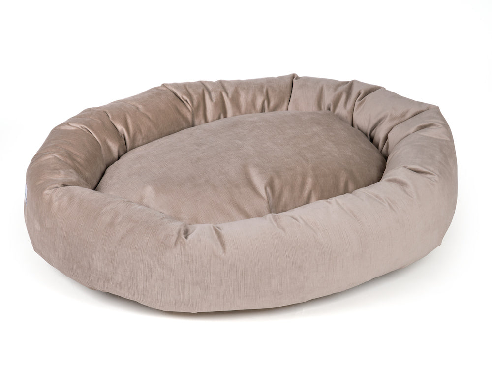 pet donut bed buckwheat