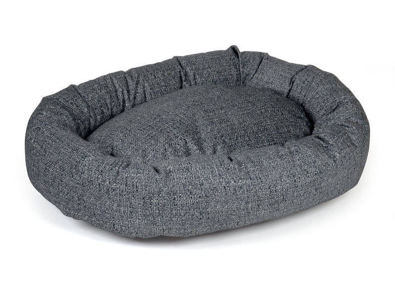 pet donut bed charcoal