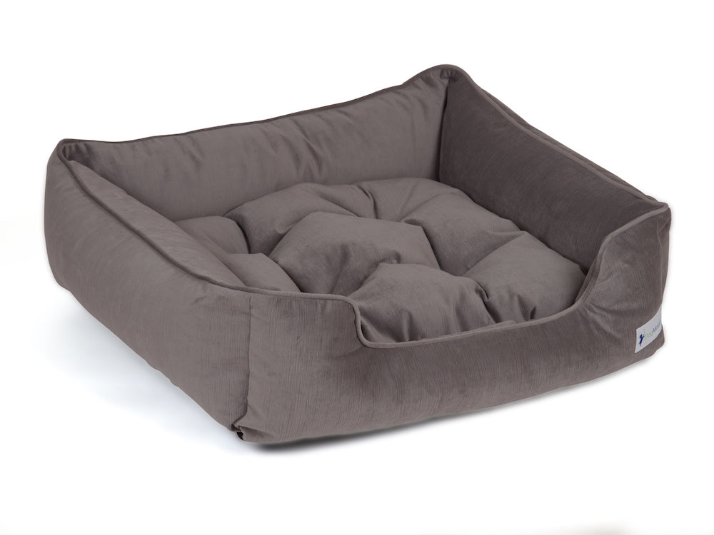 pet sleeper bed gray