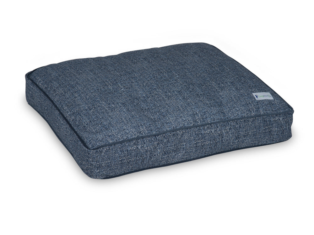 Indigo Blue Pillow Bed | Pet Bed | DogMania