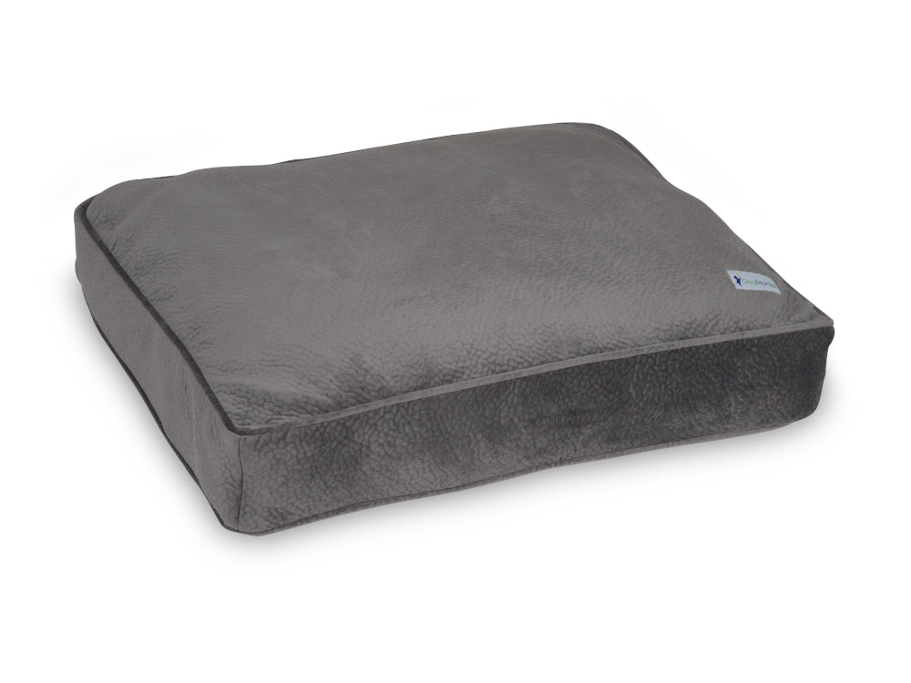 Granite Gray Pillow Bed | Pet Bed | DogMania