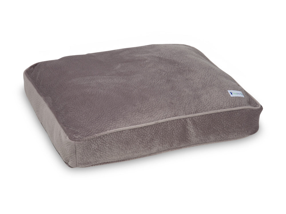 Mercury Gray Pillow Bed | Pet Bed | DogMania