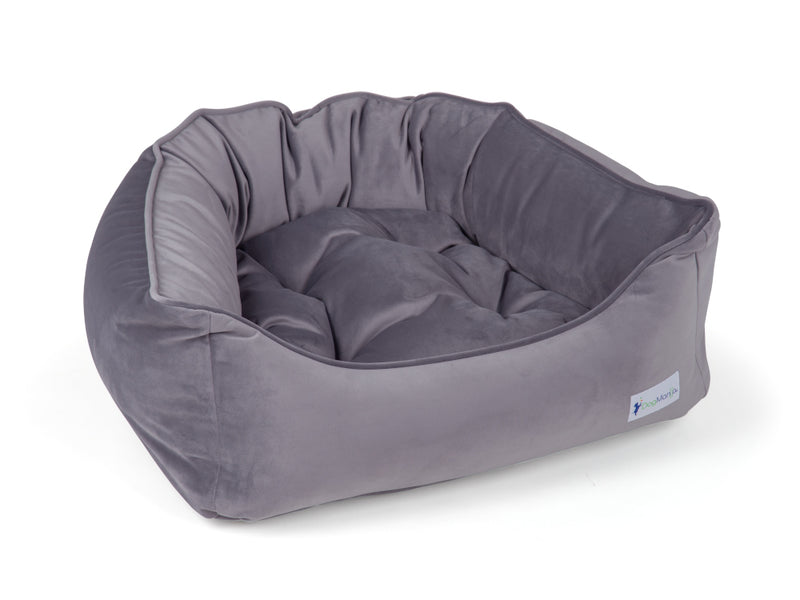 Mercury Gray Dreamer Dog Bed | Pet Bed | DogMania