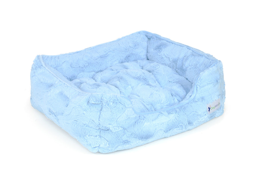 Baby Blue Cuddle Dog Bed | DogMania