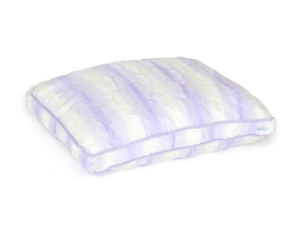 Lilac & White Cloud Pillow Bed