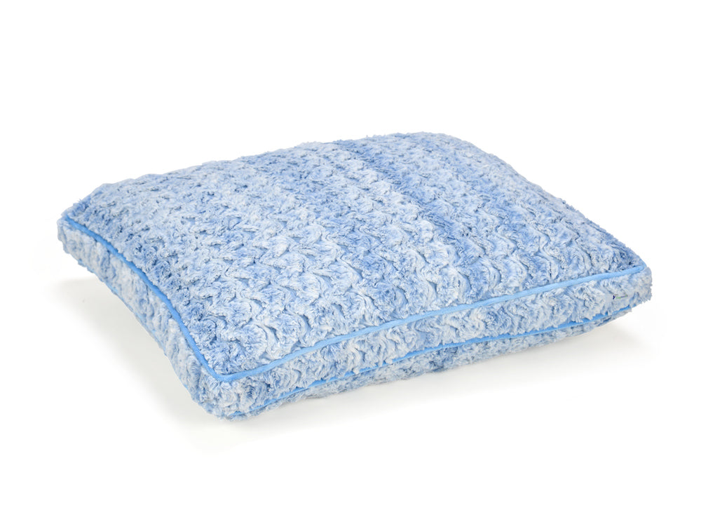 Chambray Blue Cloud Pillow Bed