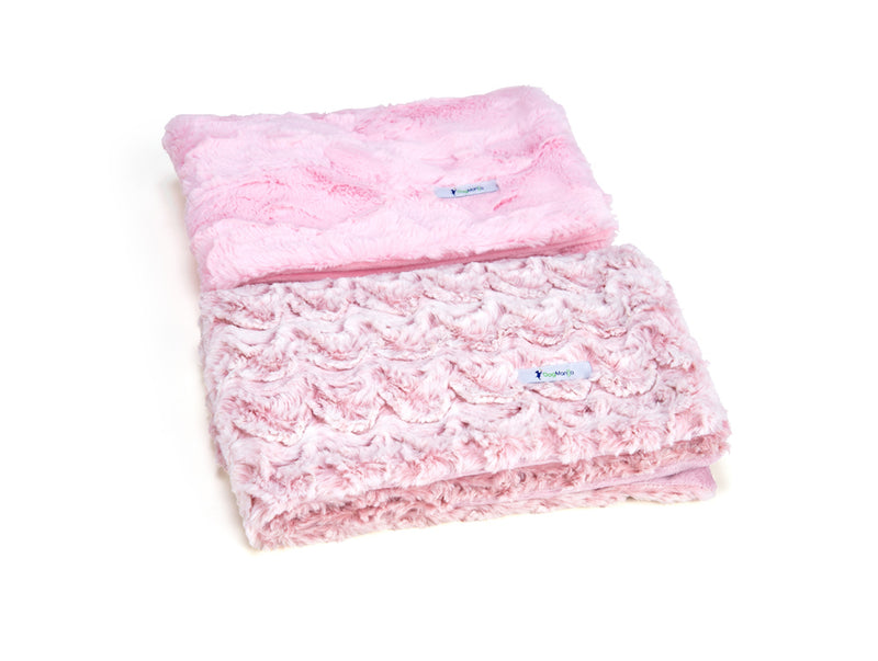Blush Luxe Cuddle Blanket