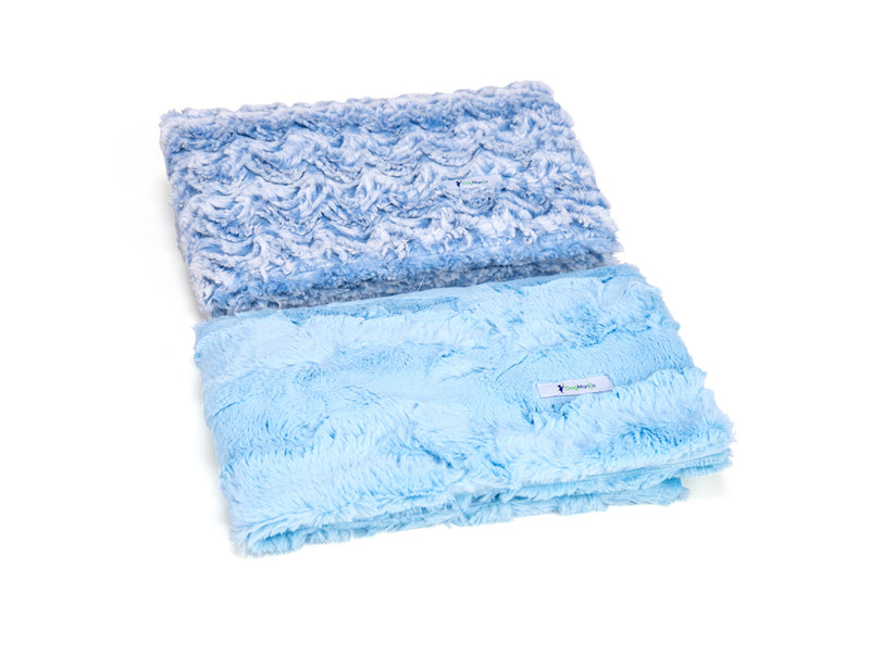 Baby Blue Luxe Cuddle Blanket